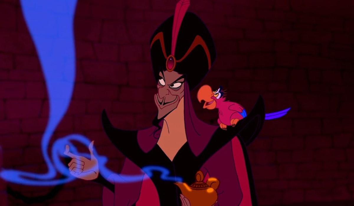 Jafar as the villain in Disney's 'Aladdin'.