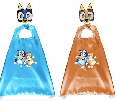 2 Set Bluey Bingo Costumes