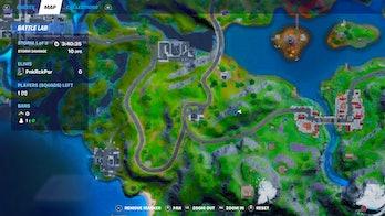 fortnite telescope location 4 map
