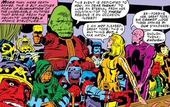 The Eternals and the Deviants.