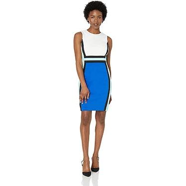 Calvin Klein Petite Sleeveless Sheath Dress