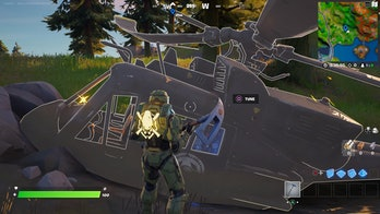 fortnite downed helicopter location gameplay