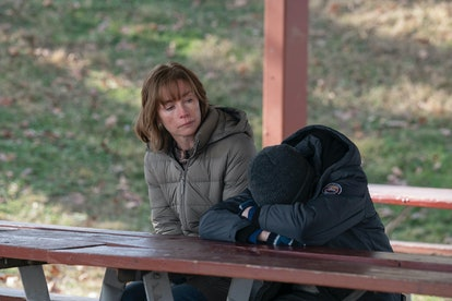 Julianne Nicholson and Cameron Mann in HBO's 'Mare of Easttown'