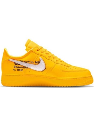 Off-White Nike Air Force 1 Lemonade