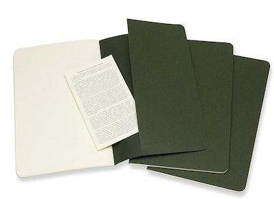 Moleskine Cahier Journal (Set Of Three)