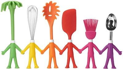 Centervs Human-Shaped Kitchen Utensils Set (6 Pieces)