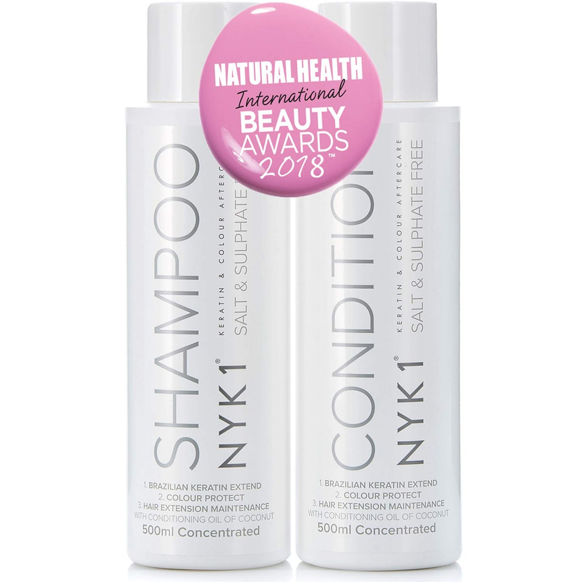 NYK1 Salt Free And Sulfate Free Shampoo & Conditioner