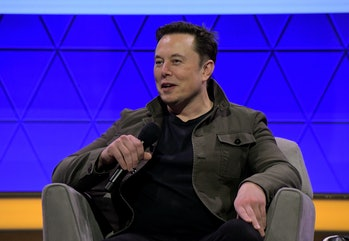Elon Musk speaks at E3 conference