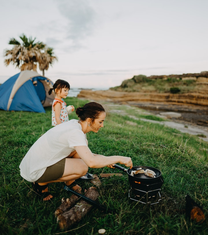 Camping with kids can be fun, even if there is a lot of prep work.