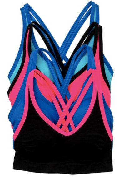 Alcye Ives Intimates Sports Bra (4-Pack)
