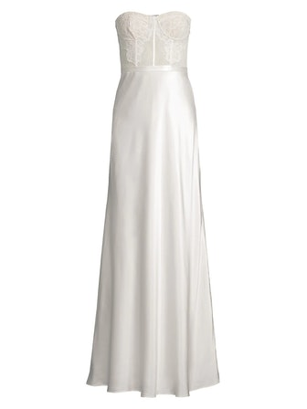 The Charlize Strapless Gown