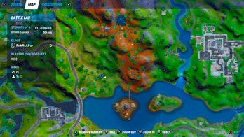 fortnite downed helicopter location map