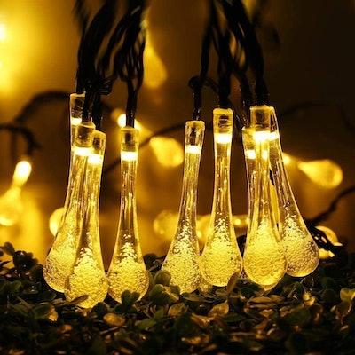 iShabao LED Solar String Lights (22.9 Feet, 50-Lights)