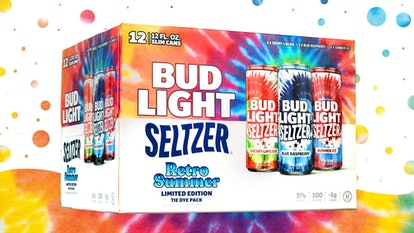 This Bud Light Seltzer Limited-Edition Retro Summer Pack features the same flavors as the Icicles.