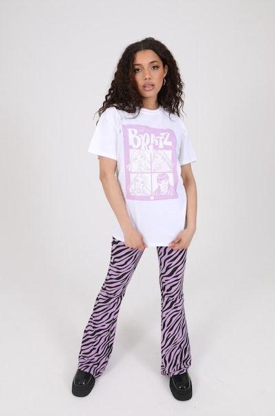 Daisy Street X Bratz relaxed t-shirt with group print