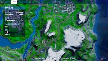 fortnite telescope location 3 map