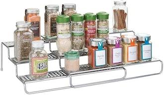 mDesign Adjustable Spice Rack