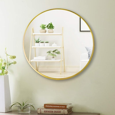 Beauty4U Wall Circle Large Round Mirror, 20 inches