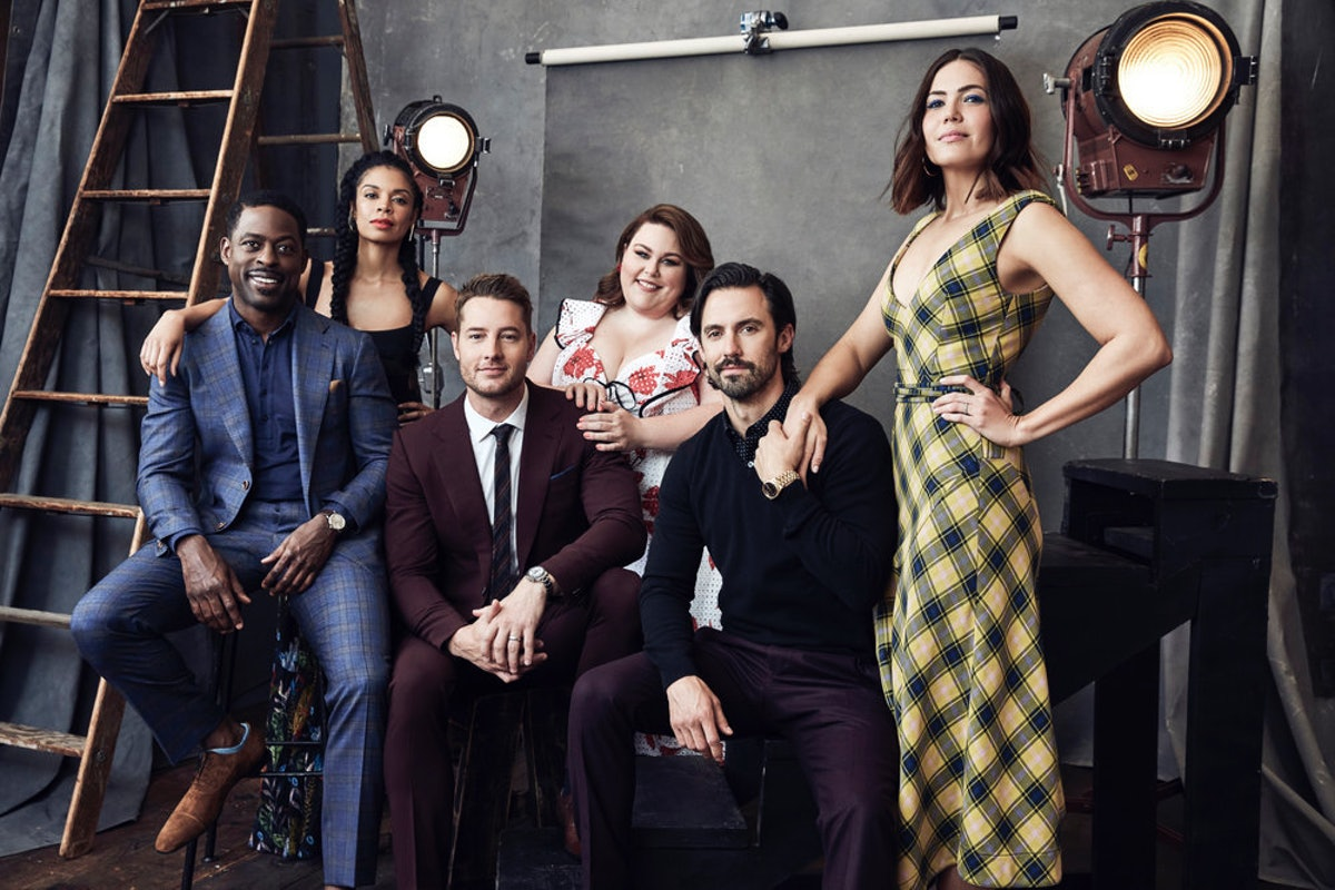 Sterling K. Brown, Susan Kelechi Watson, Justin Hartley, Chrissy Metz, Milo Ventimiglia, Mandy Moore from 'This Is Us'