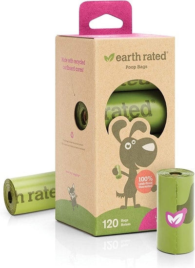 Earth Rated Biodegradable Dog Waste Bags (120 Count)