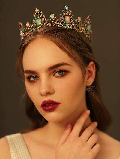SWEETV Jeweled Tiara