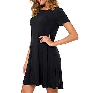 POPYOUNG Casual T-Shirt Dress