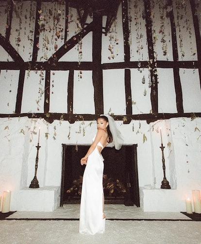 Ariana Grande's Wedding Dress by Vera Wang.