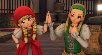 dragon quest 11 characters