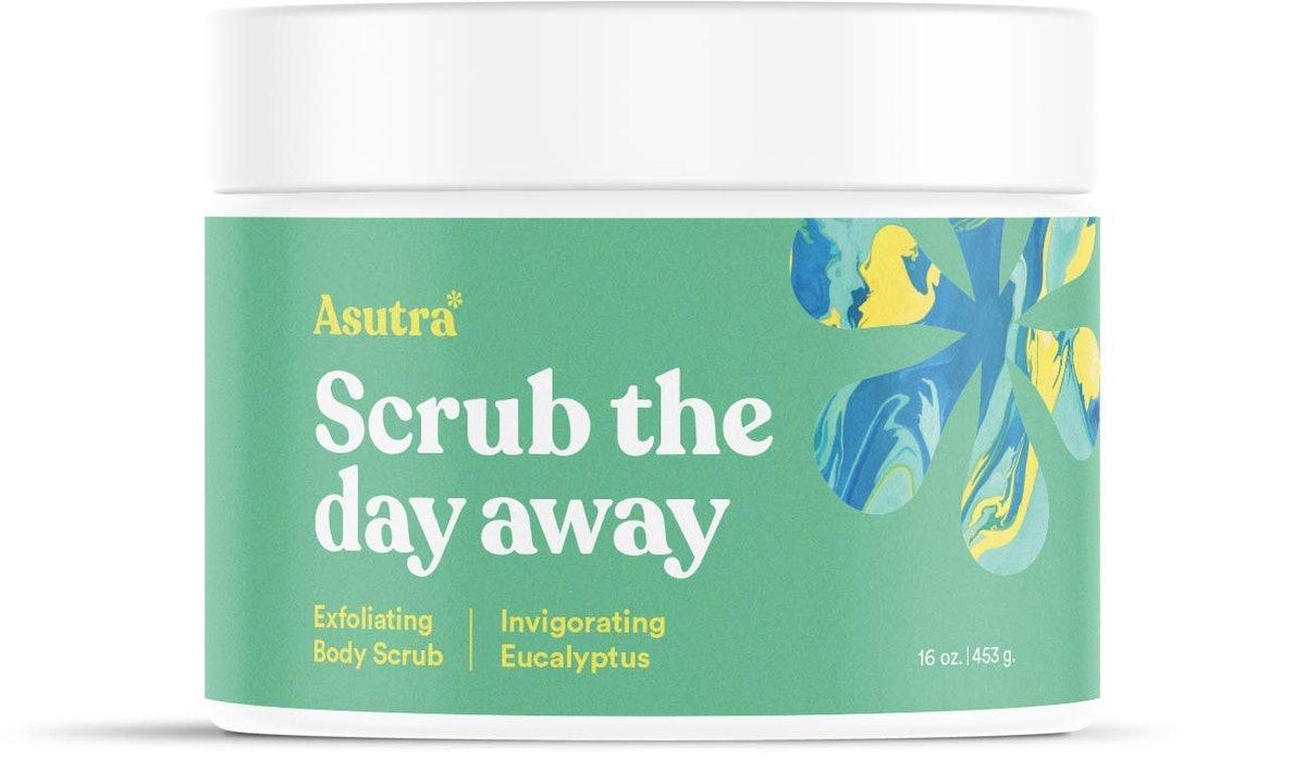 Asutra Scrub The Day Away Eucalyptus Body Scrub