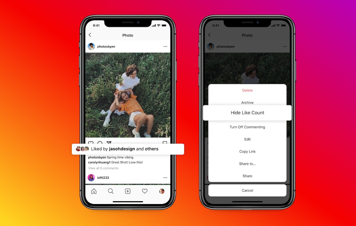 Here's what to know about if people can like your Instagram posts if you hide like counts.
