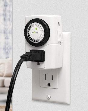 BN-LINK 24-Hour Mechanical Outlet Timer