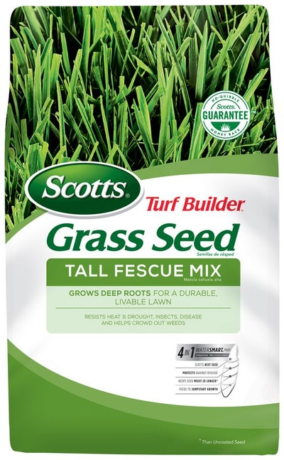 Scotts Turf Builder Grass Seed Tall Fescue Mix, 3 lbs., up to 750 sq. ft.