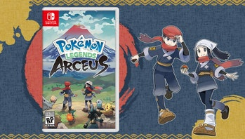 pokemon legends arceus cover art