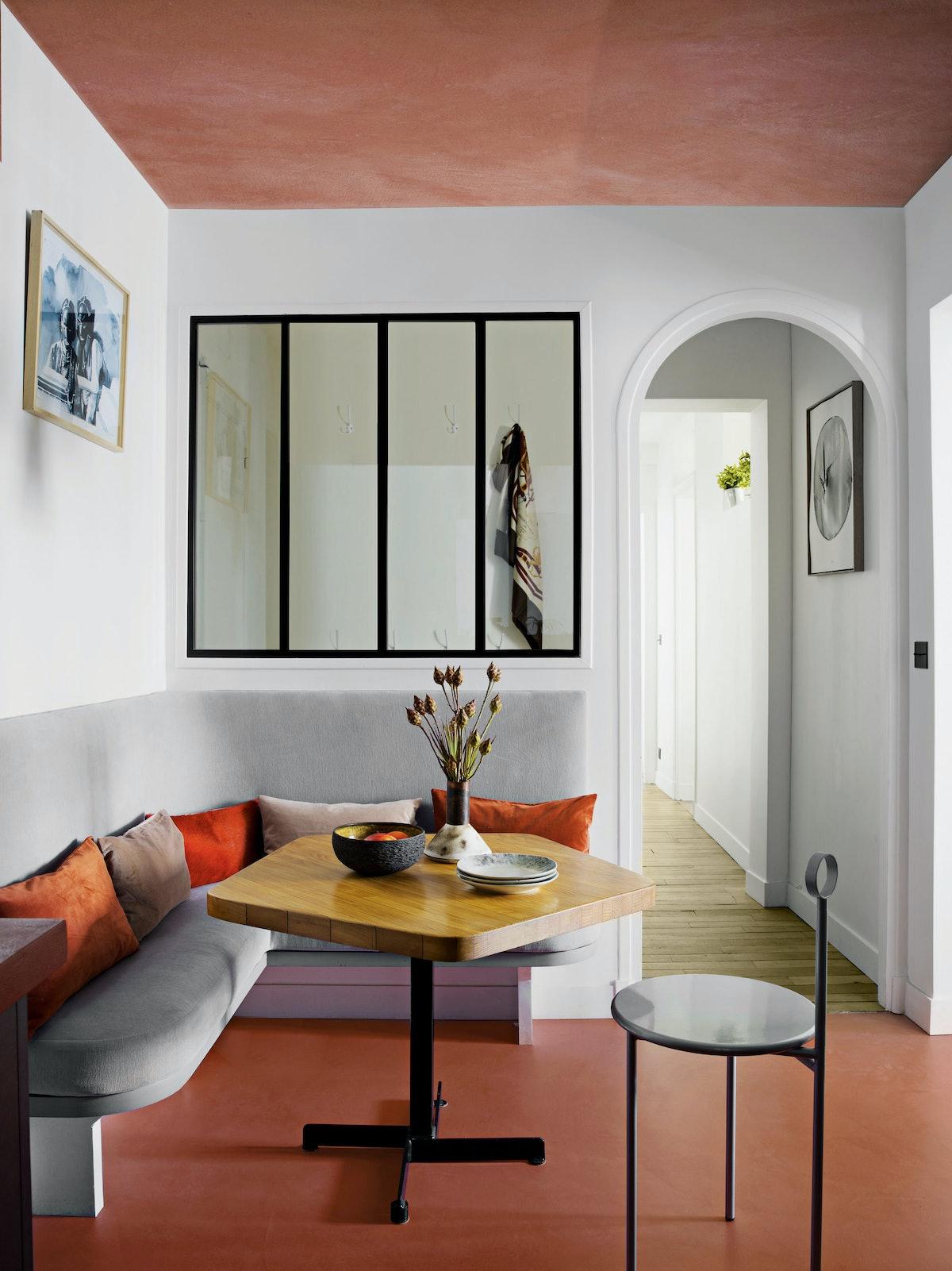 corner of furnished room