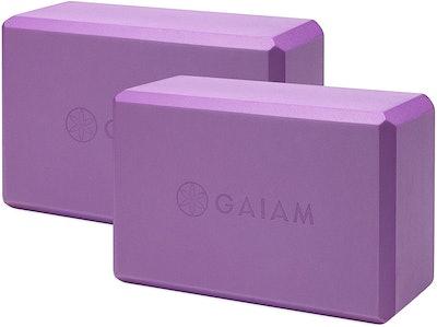Gaiam Essentials Yoga Block (Set Of Two)