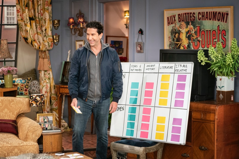 Ross (David Schwimmer) on 'Friends.' Photo via HBO Max