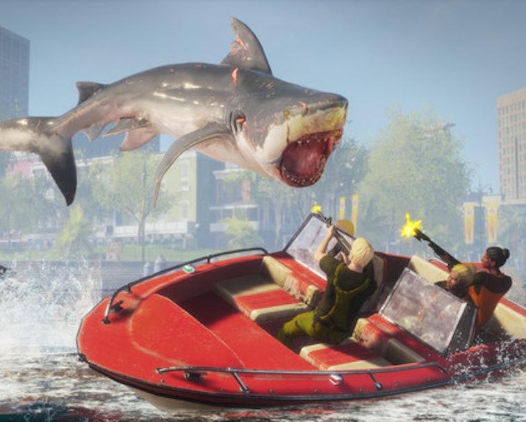 Steam, Sharknado, Tara Reid, Shark Week, Mark Cuban, Shark Tank