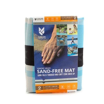 Sand-Free Mat Picnic Park Beach Blanket