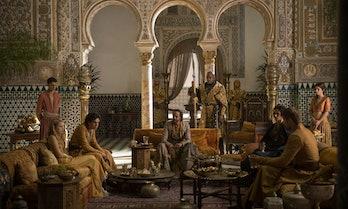 Dornish meeting in Game of Thrones Season 5.