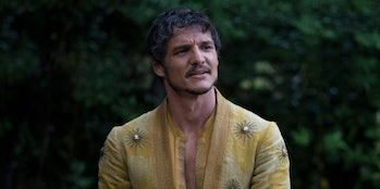 Pedro Pascal as Oberyn Martell on Game of Thrones