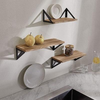 BAYKA Floating Shelves (Set of 3)