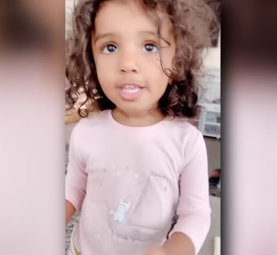 Two-year-old Kashe Quest has been admitted to the high IQ society American Mensa with an IQ of 146.