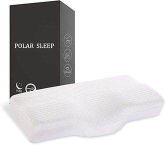 POLAR SLEEP Cervical Memory Foam Pillow