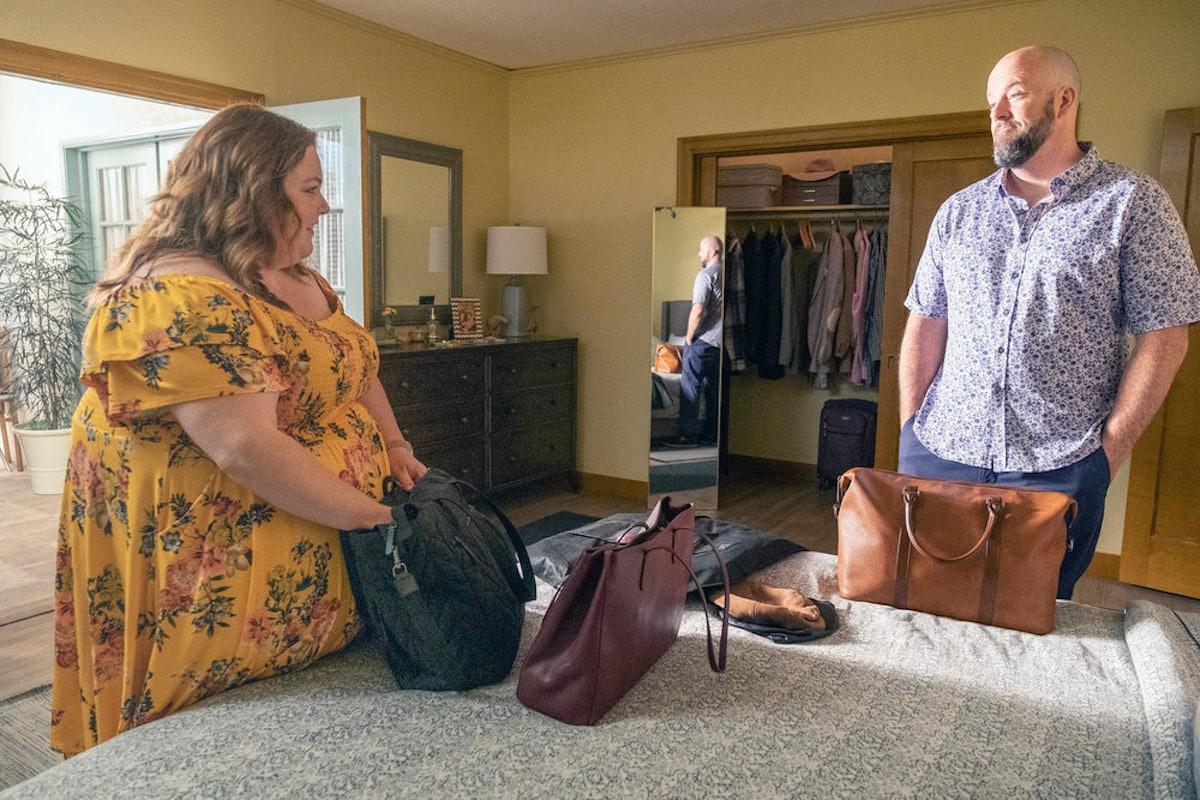 Chrissy Metz as Kate, Chris Sullivan as Toby in This Is Us