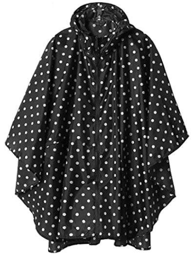 SaphiRose Hooded Rain Poncho
