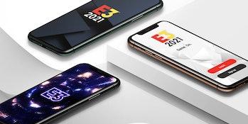 e3 2021 companion app on phones