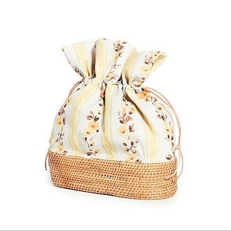 Nusa Bucket Bag Woven Rattan