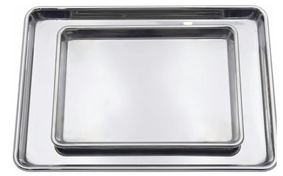 Checkered Chef Stainless Steel Baking Sheets (Set Of 2)