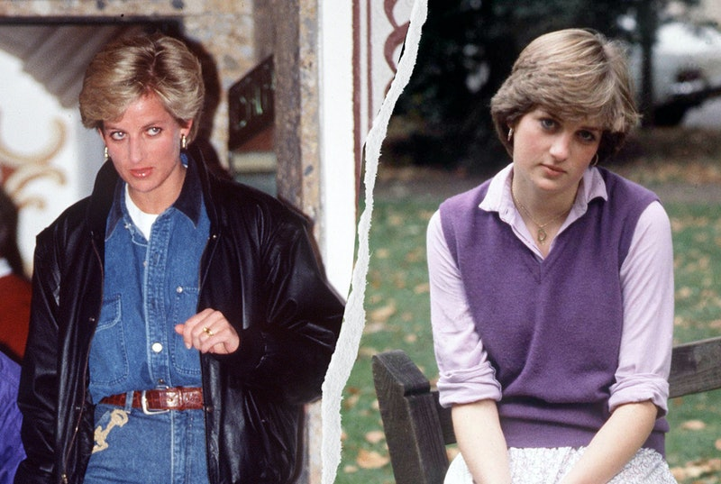 """From cardigans to chunky sneakers, here are the top """"ugly"""" '90s trends that Princess Diana mastered that are still inspiring today."""