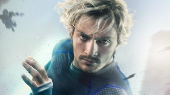 Aaron Taylor-Johnson Quicksilver Avengers: Age of Ultron poster